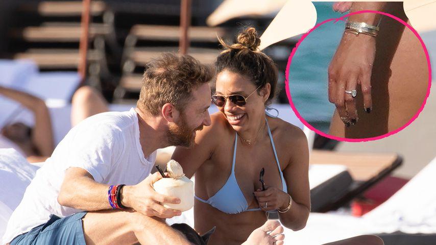 Fetter Klunker: Haben sich David Guetta & Jessica verlobt?