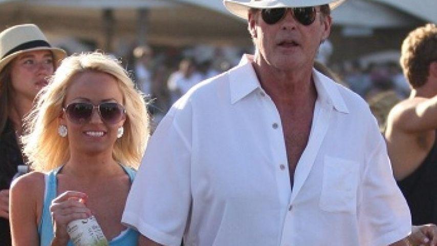David Hasselhoff und Hayley