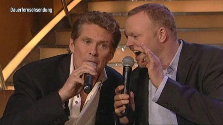 Raab & Hasselhoff im Gesangs- und Witze-Battle