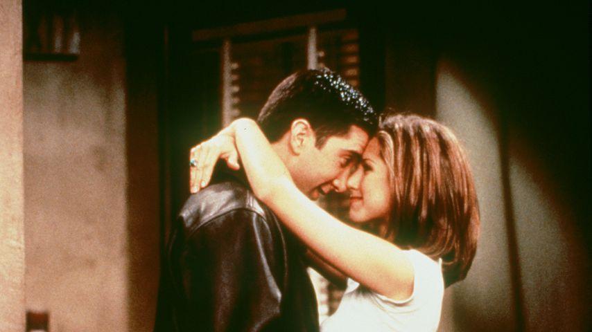 """David Schwimmer und Jennifer Aniston in """"Friends"""""""