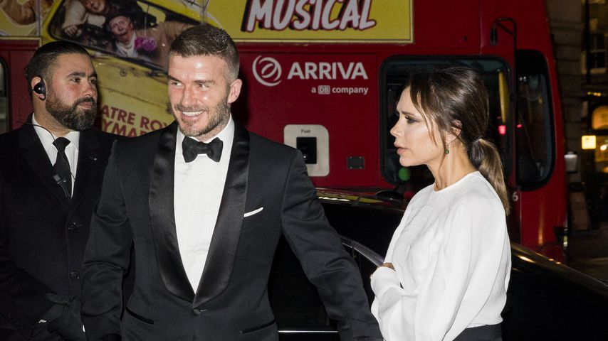 David und Victoria Beckham im März 2019 in London