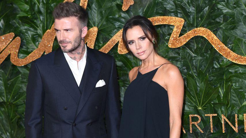 Victoria Beckham genervt von David-Witzen bei Fashion-Awards
