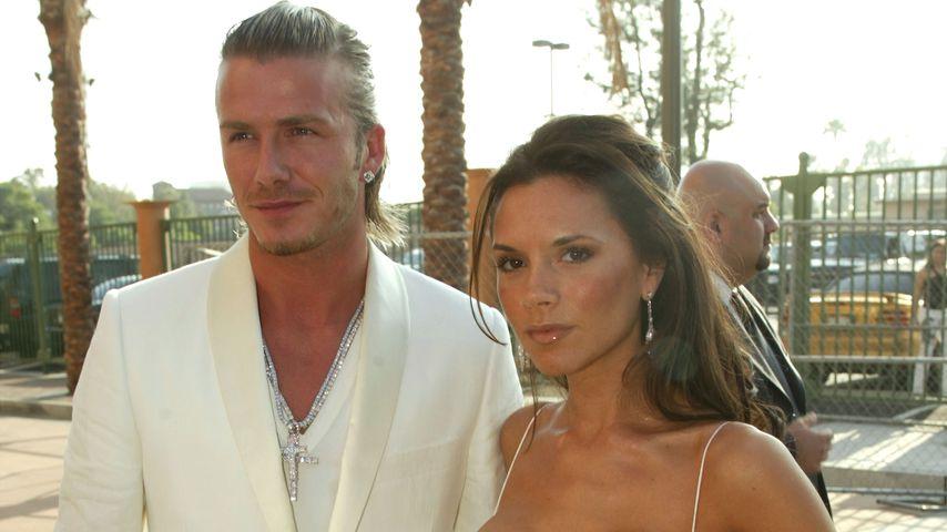 David und Victoria Beckham, 2003