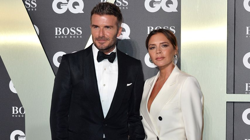 David und Victoria Beckham bei den GQ Men Of The Year Awards 2019