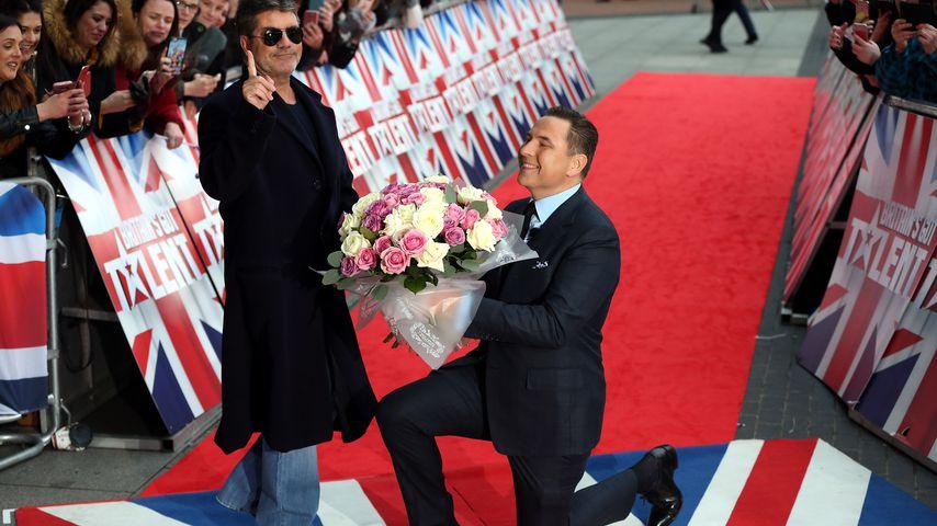 """Simon Cowell und David Walliams bei den Auditions für """"Britain's Got Talent"""""""