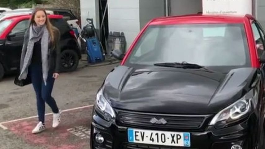 Eigenes Auto mit 14: Davina Geiss macht Straße unsicher