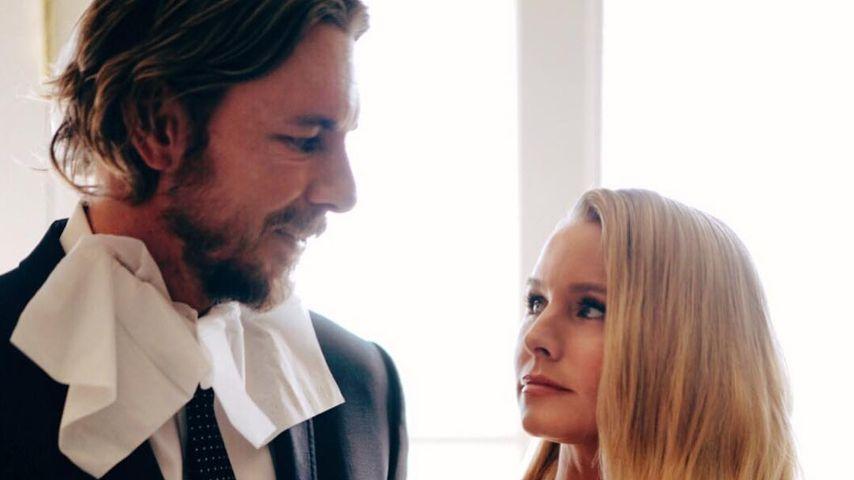 Dax Shepard und Kristen Bell vor den Golden Globes 2019