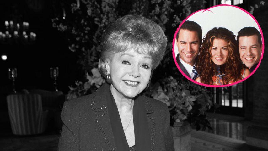 """Debbie Reynolds (†): """"Will & Grace""""-Cast niedergeschmettert!"""