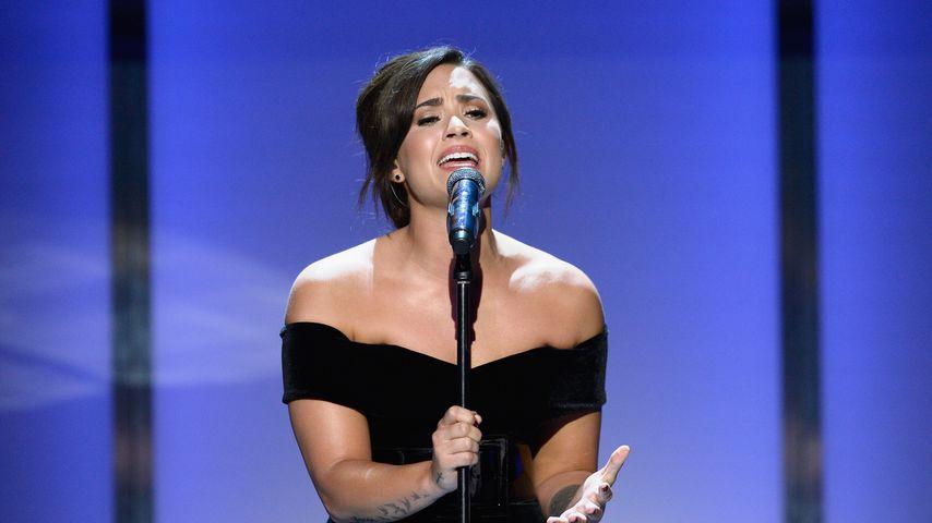 Demi Lovato bei einer Performance