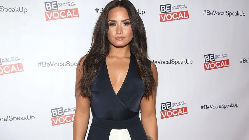 "Demi Lovato bei der ""Beyond Silence""-Premiere in L.A. im Februar 2017"