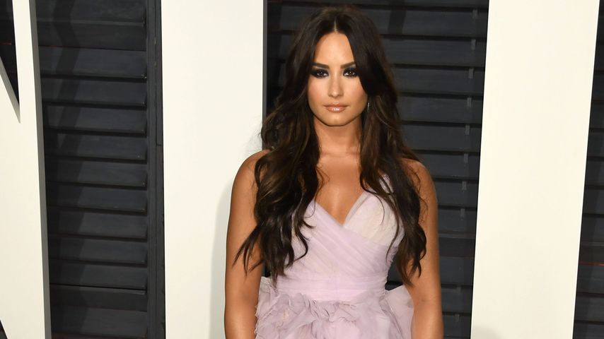 Demi Lovato bei der Vanity Fair Oscar Party 2017