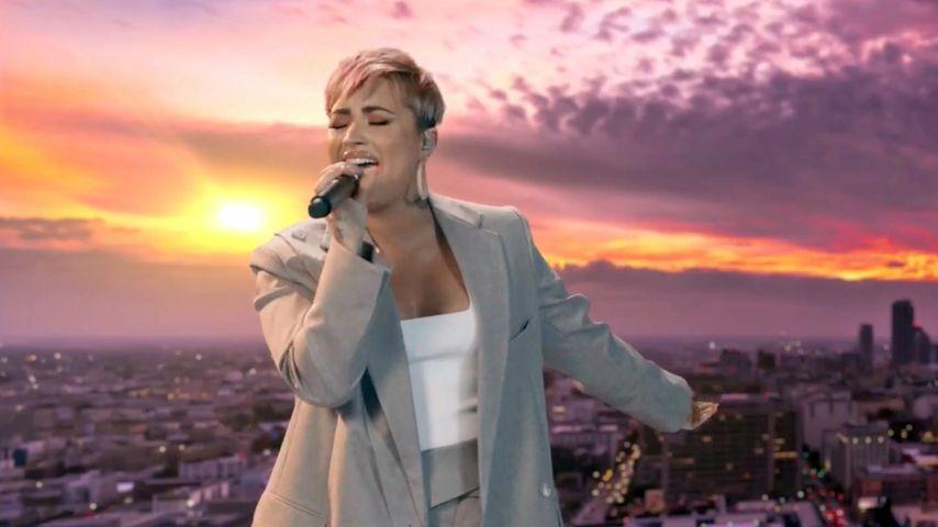 """Demi Lovato beim TV-Live-Event """"Celebrating America"""" im Januar 2021"""