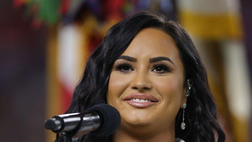 Demi Lovato im Februar 2020