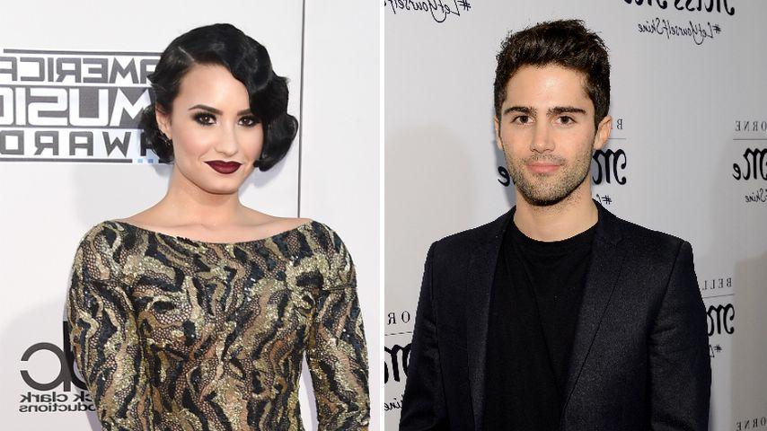 Bestätigen Demi Lovato und Max Ehrich damit ihre Beziehung?