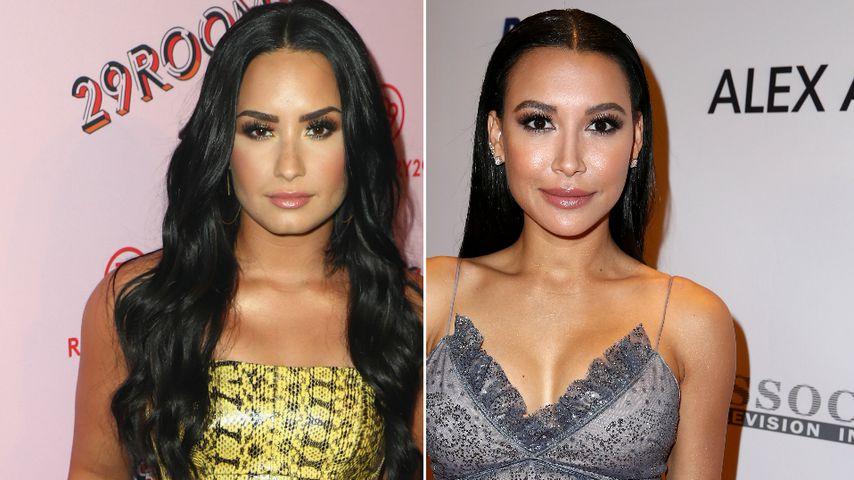 """Bei """"Glee"""" ein Paar: Demi Lovato betet für vermisste Naya"""