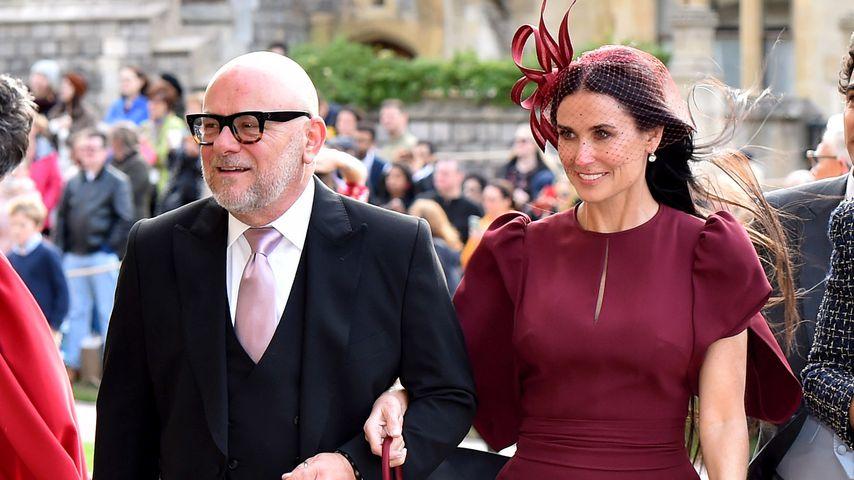 Affäre mit einem Royal: Kam Demi Moore deshalb zur Hochzeit?