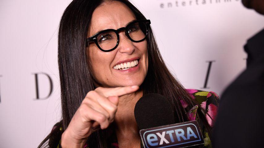 Nach Zahnausfall: Demi Moore hat ihr schönes Lachen wieder!