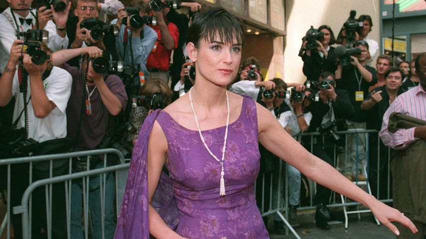 Demi Moore in Cannes 1997
