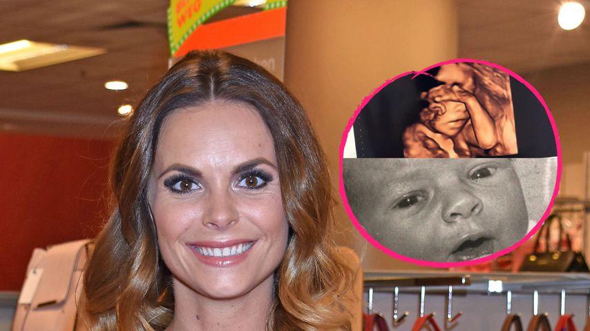 Ganz die Mama: Denise Kappès' Baby kommt nach ihr