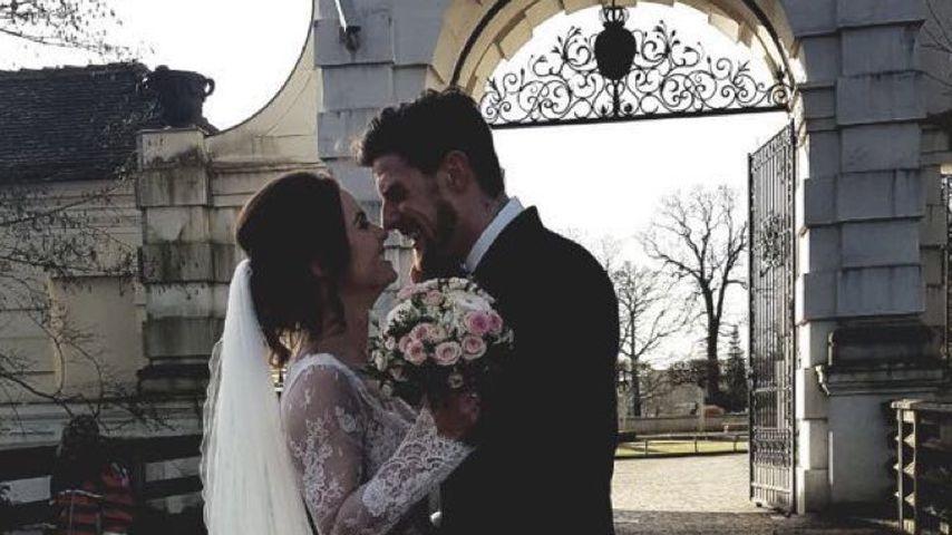 Denise Temlitz und Pascal Kappés bei ihrer Hochzeit