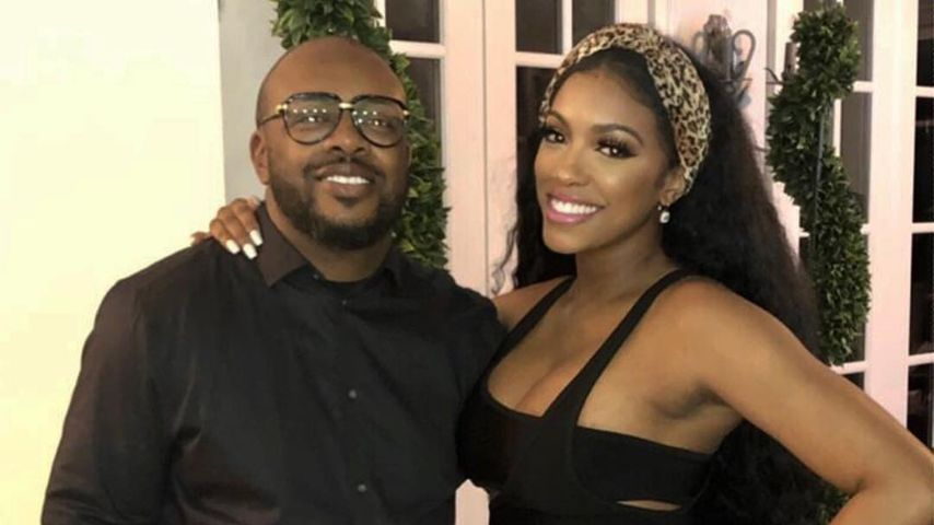 Dennis McKinley und Porsha Williams im April 2019