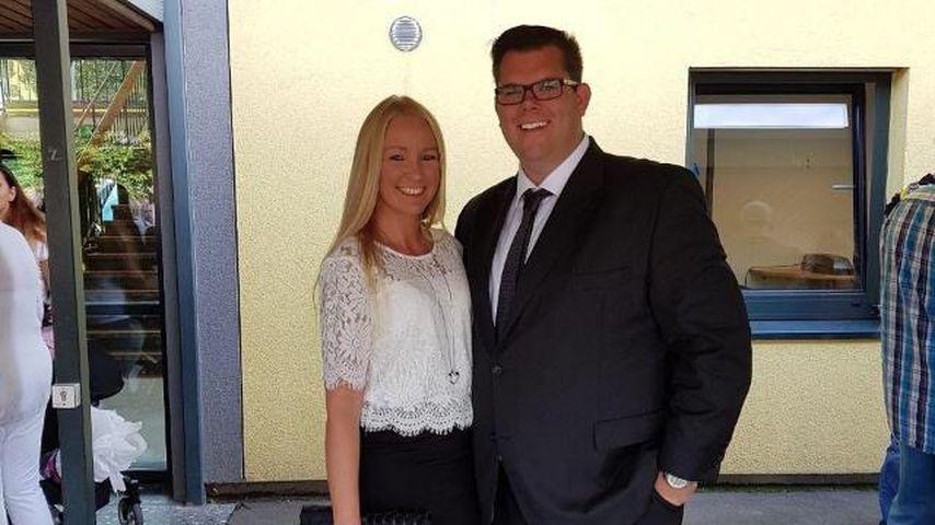Dennis Schick und seine Verlobte Patricia