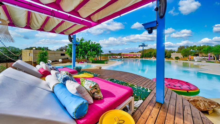 """Der Außenbereich der neuen """"Love Island""""-Villa"""