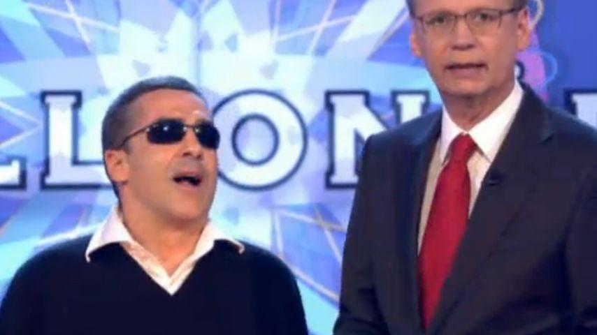 Wer wird Millionär: Blinder Kandidat beeindruckt