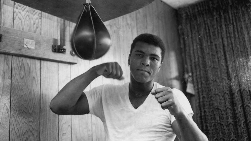 Der Boxer Muhammad Ali