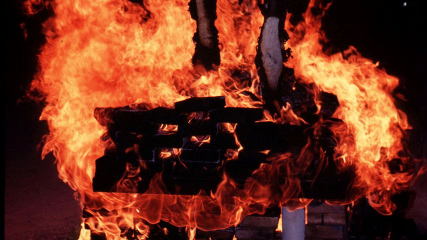 """Mann stirbt: Feuer-Drama beim """"Burning Man""""-Festival"""