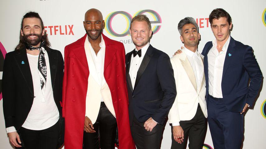 """Der Cast der ersten Staffel von """"Queer Eye"""""""