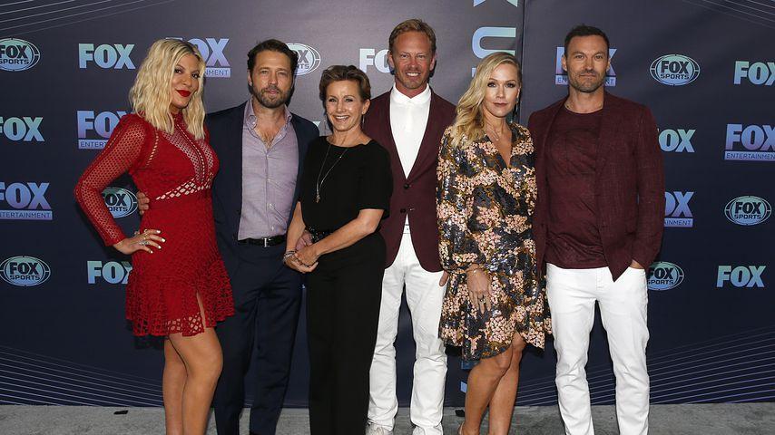 """Der Cast von """"Beverly Hills, 90210"""" im Mai 2019"""