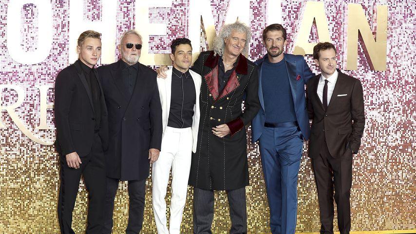 """Rami Malek (m.) bei der """"Bohemian Rhapsody""""-Premiere in London"""