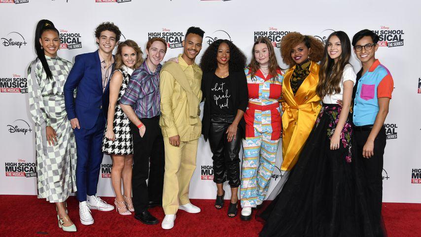 """Der Cast von """"High School Musical: The Musical: The Series"""""""
