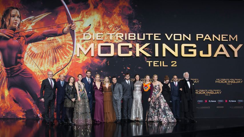 Liam Hemsworth, Hunger Games, Jennifer Lawrence, Julianne Moore, Jena Malone, Josh Hutcherson, Natal