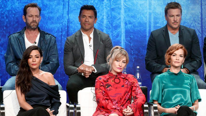 """Der Cast von """"Riverdale"""" bei einer Pressekonferenz"""