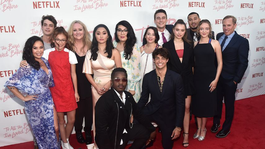 """Der Cast von """"To All the Boys I've Loved Before"""""""
