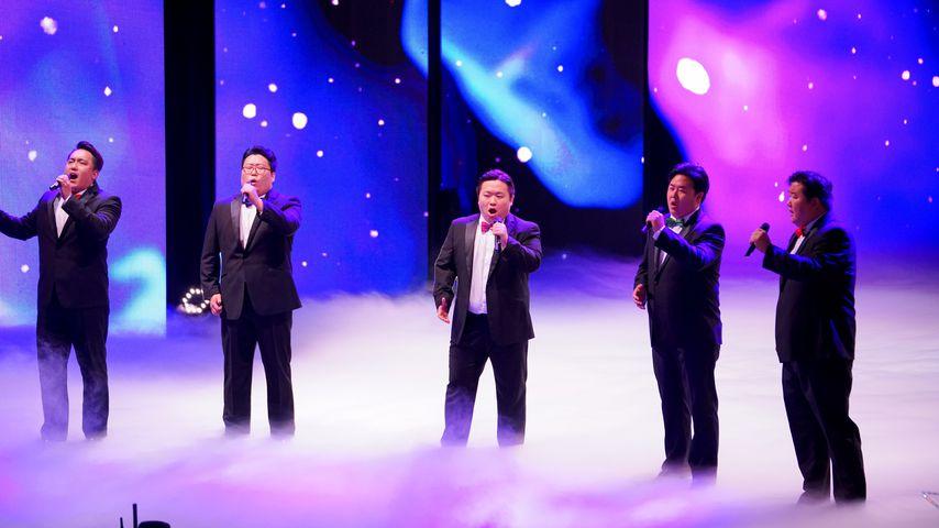 """Der Chor """"Seicento"""" auf der """"Das Supertalent""""-Bühne"""