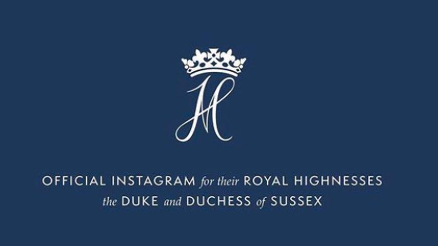 Der erste Instagram-Post von Prinz Harry und Herzogin Meghan