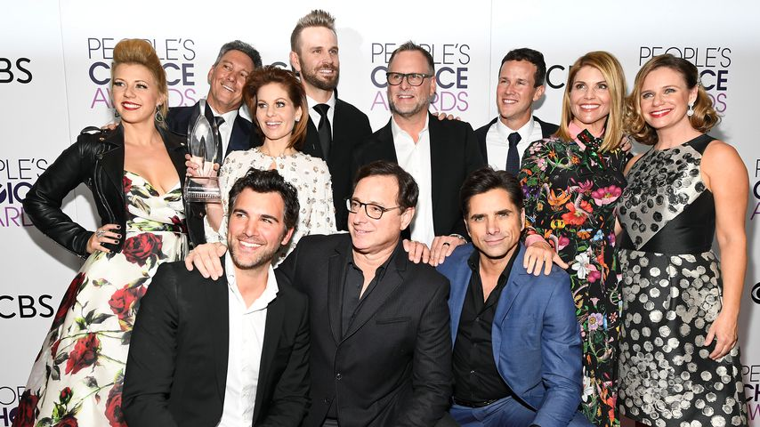 "Der ""Fuller House""-Cast gewinnt einen Peoples Choice Award in L.A. im Januar 2017"