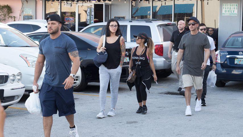 """Der """"Jersey Shore""""-Cast in Miami"""
