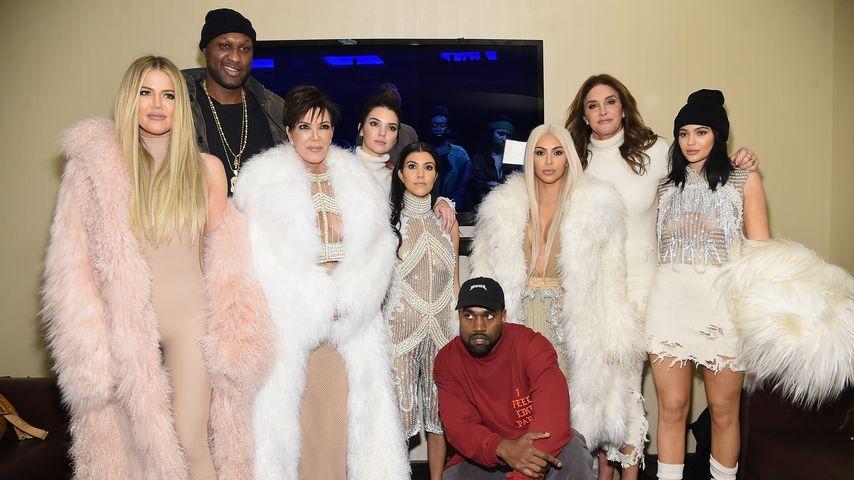Der Kardashian-Jenner-Clan, Lamar Odom und Kanye West
