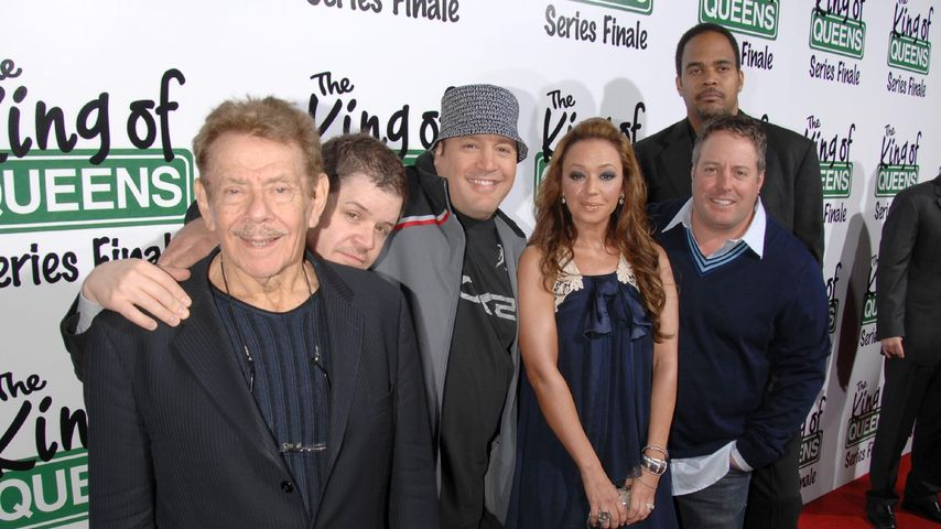 Leah Remini, Kevin James und Jerry Stiller