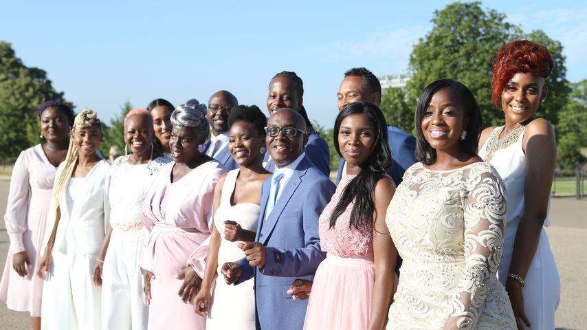 Der Kingdom Choir bei einem Auftritt in London