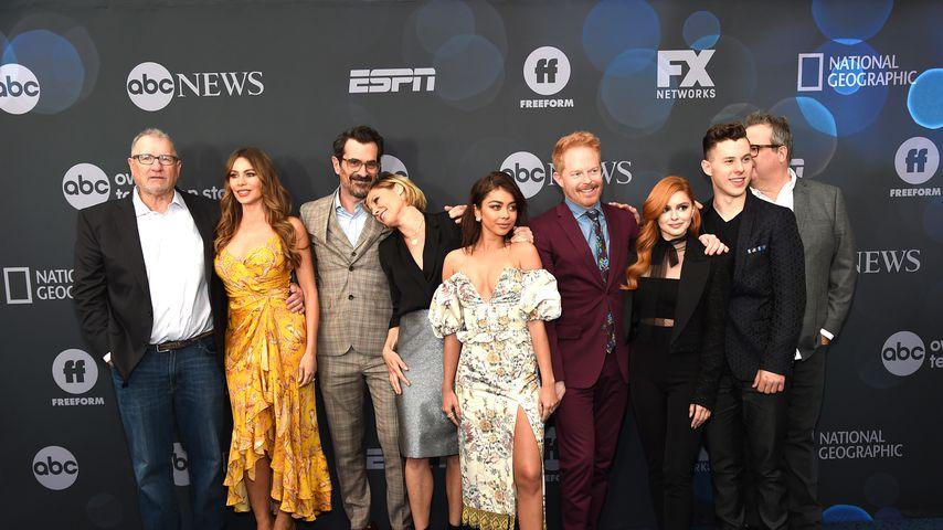 """Der """"Modern Family""""-Cast beim ABC Walt Disney Television Upfront Presentation"""