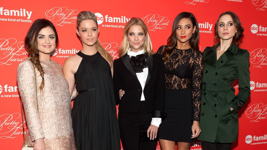 "Der Cast von ""Pretty Little Liars"", 2014"