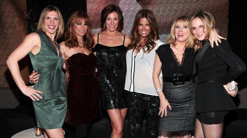 Jennifer Gilbert mit ihren Kolleginnen in New York City