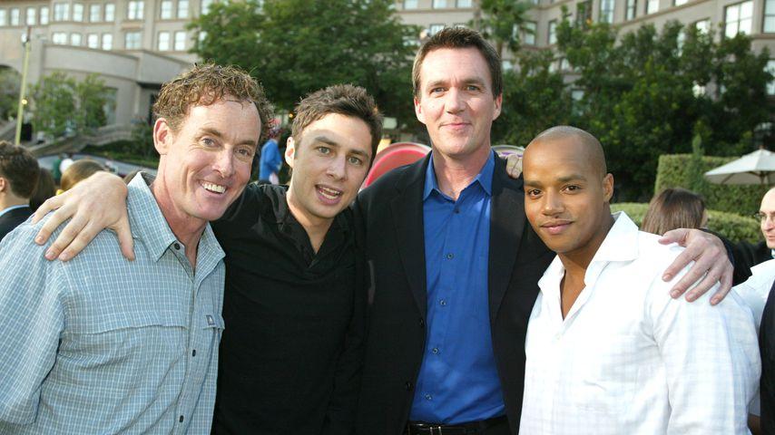 """Der Cast von """"Scrubs"""", 2002"""