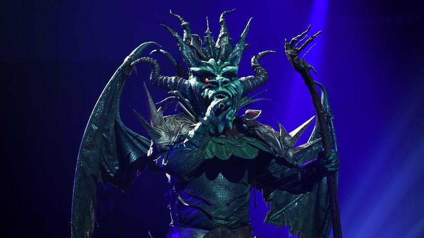 """Der """"The Masked Singer""""-Drache"""