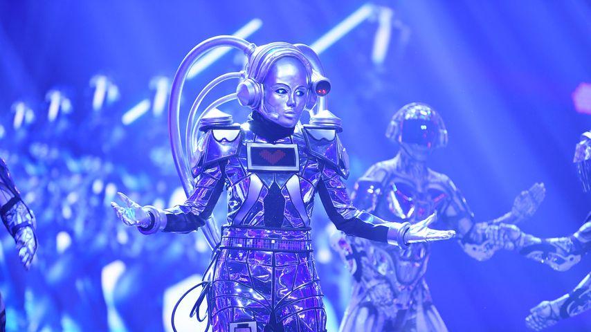 """Der Roboter in der ersten Folge von """"The Masked Singer"""""""